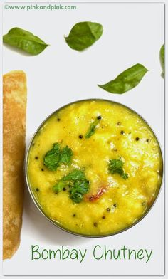 Bombay Chutney is a very easy side dish for poori. Side dishes which go well with Poori are very less. Bombay chutney is an easy to make sid. Easy Chutney Recipe, Indian Chutney Recipes, Indian Food Recipes, Ethnic Recipes, Indian Foods, Gujarati Recipes, Veg Recipes, Vegetarian Recipes, Cooking Recipes