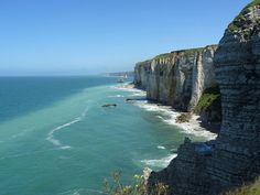 The coast of Normandy - Etretat.