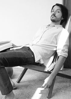 Diego Luna photographed by Carlotta Manaigo for L'Uomo Vogue