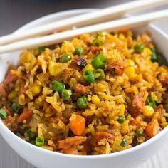 Nashi Food | Nadja | Recipes (@nashifood) • Instagram photos and videos Arroz Frito, Roast Pumpkin Soup, Beef Sauce, Puerto Rican Dishes, Mixed Vegetables, Pork Ribs, Pork Recipes, Lasagna Recipes, Fried Rice