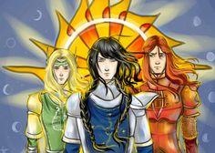 Finrod, Fingon, Maedhros