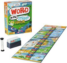 Amazon.com: Educational Insights Word on the Street Junior, Vocabulary & Word Game for Home & Classroom, Ages 7+ : Toys & Games