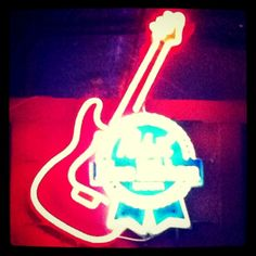 Classic PBR @Dana Seymour, neon, sign, pbr, guitar