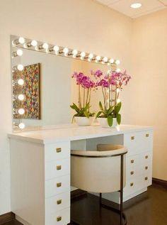 Construindo Minha Casa Clean: 15 Penteadeiras Camarim - Lindas de Viver!