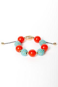 T Beaded Bracelet