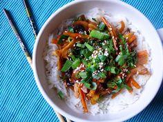 Vöröskaktusz diétázik: Kínai magyar módra egyszerűen Japchae, Ethnic Recipes