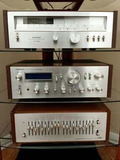 Pioneer. Loved their graphic equalizers.