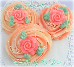 Endlessly In Love Cupcake Cookie Soaps www.sweetlovecandles.com
