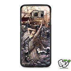 Retro Sea Wave Samsung Galaxy S7 Case