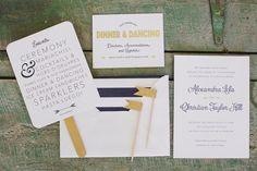 #paper-goods, #stationeryPhotography: Jasmine Star - jasmine-star.com/Read More: http://stylemepretty.com/2013/07/29/mccormick-home-ranch-wedding-from-jasmine-star-photography/