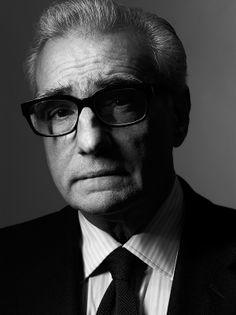 Martin Scorsese by Henry Leutwyler