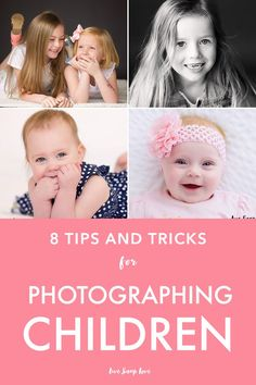 Get amazing shots of your children with these top 8 child photography tips! Click through to read them all!