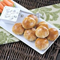 Buffalo Chicken Biscuit Poppers are a quick and easy snack or appetizer!