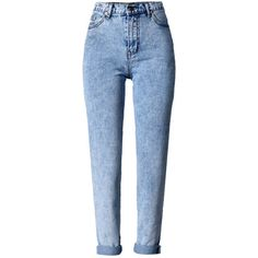 Blue Light Wash High Waist Boyfriend Jeans (€35) ❤ liked on Polyvore featuring jeans, pants, bottoms, clothing - trousers, pantalones, light wash boyfriend jeans, highwaist jeans, blue high waisted jeans, high rise boyfriend jeans and boyfriend jeans