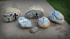 Mosaic Rocks by Everyday Handmade and Kids