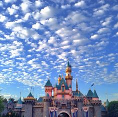 Sleeping Beauty Castle- the center of the Magic