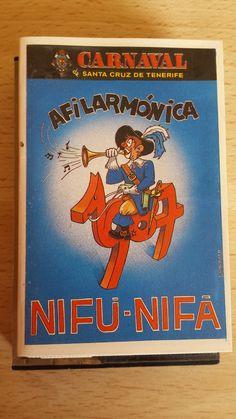 Cassette año 87 de la Afilarmonica Nifú Nifá del Carnaval de Santa Cruz de Tenerife