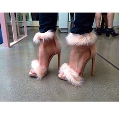 Fur sandals > THE BIG DAY   TheyAllHateUs