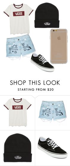 """#my stile"" by luvalenquemera ❤ liked on Polyvore featuring Vans, Aloha From Deer and Agent 18"
