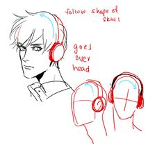 3* Art references and Resources, Hi~ I was in the middle of browsing you helpfulthings stuffs and wondering if you have some tips about headphones and earphones^^ Thanks a bunch in advance if you are willing to do one ^^