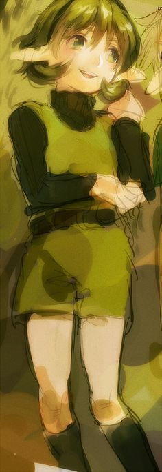 Saria! :D My favorite Kokiri.  (Though I completely ADORE them all!)