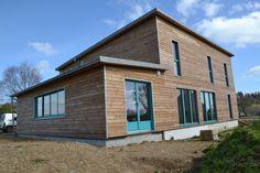 Maison bois Coatleven - passive par Christophe Gauffeny et  Passiflore Conseil