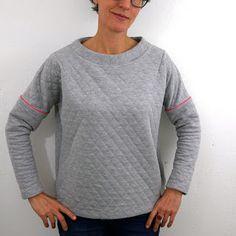 Sweaterparty in Grau und Gelb - Frau Mona und Frau Isa | 1000STOFF