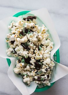 The TomKat Studio: Mint Cookies + Cream Popcorn…