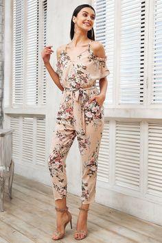 9bc7098a689b 10 Best floral jumpsuit images