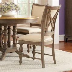 Riverside Windhaven Uphl X-Bak Side Chair-2in