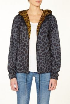 London Leopard Nylon Jacket by Marc by Marc Jacobs