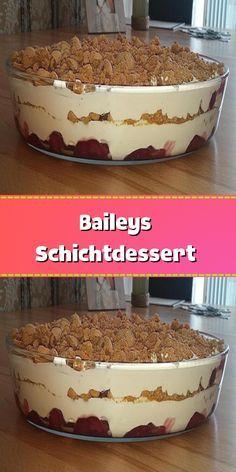 Parfait Desserts, Pudding Desserts, Köstliche Desserts, Mousse Dessert, Dessert Drinks, Sweet Recipes, Cake Recipes, Dessert Recipes, Grilled Desserts