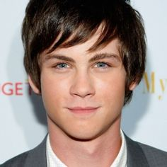 Logan Lerman. My celebrity crush.