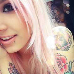 Love everything. Hair. piercings. & tats