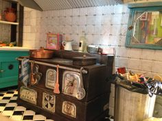 cocina miniatura