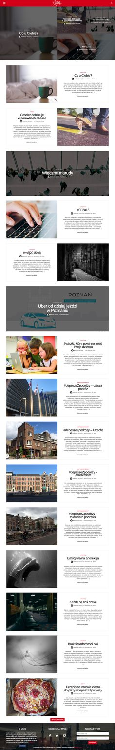 My web design blog project.This is inspiration for you? You need design for your blog? Contact with me.