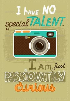Hipster Poster with Vintage Camera | GraphicRiver