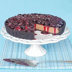 Valentine's Day Recipes: Chocolate-Cherry Tart