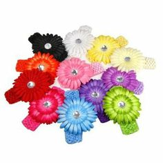 YAY! These gorgeous headbands are just $0.61 each + FREE Shipping! I purchased these a few months ago for Baby Girl and they are even prettier in person :) -------> http://www.darlindeals.com/2014/04/flower-headbands-just-0-61-each-free-shipping.html