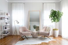 As far as we're concerned, blush is still the new black, and it should definitely be on your radar to include in any palette of neutrals for the home. Opt for lighter, dustier, nude-inspired...