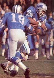Mel Farr Detroit Lions 1967-73.