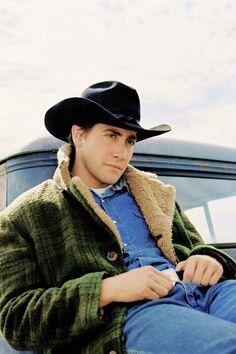"""Jake Gyllenhaal in """"Brokeback Mountain"""""""