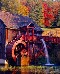 Grist Mill, Guildhall, Vermont