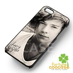 Harry Styles Black and White Photo -s5tl for iPhone 4/4S/5/5S/5C/6/ 6+,samsung S3/S4/S5/S6 Regular/S6 Edge,samsung note 3/4