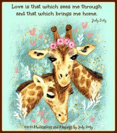 Giraffe, Moose Art, Meditation, Animals, Felt Giraffe, Animales, Animaux, Giraffes, Animal