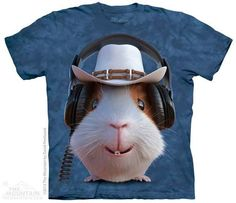 Guinea Pig Cowboy T-shirt | Manimal T-shirts | The Mountain®