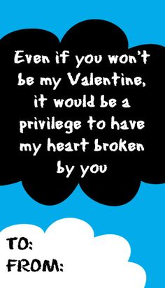 The Fault in Our Stars valentine card. If someone gave me this, I would fall in love with them.