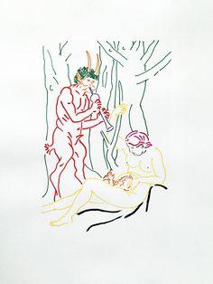 "Saatchi Art Artist Zoran Poposki; Drawing, ""Study of Satyr Family (after Durer)"" #art"