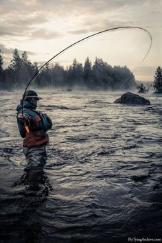 "fly fishing was surly ""God's Idea"""