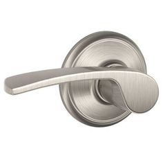 Schlage F10-MER This is what I'm thinking for door handles. In brushed chrome/satin nickel.